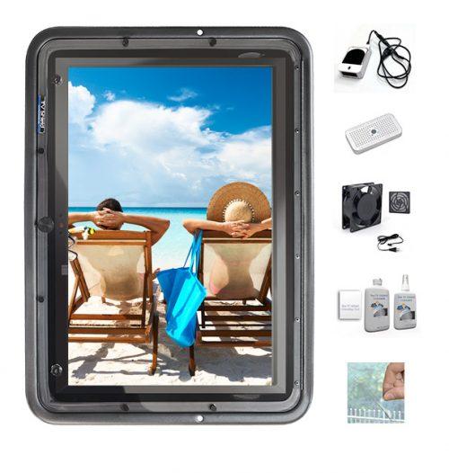 display shield vertical packages